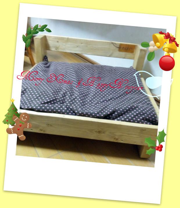 プレゼントの手作りベット
