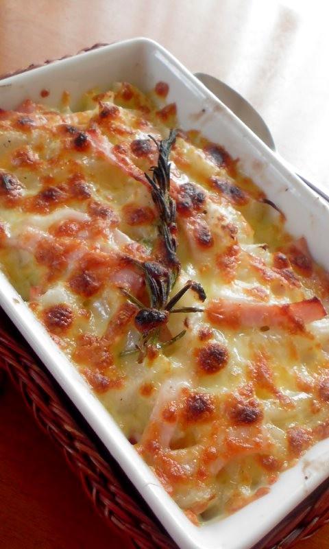長芋のグラタン ローズマリー風味