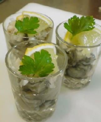 生牡蠣グラス