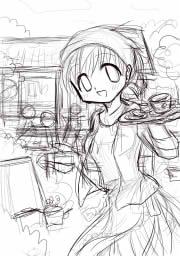 桜と珈琲2