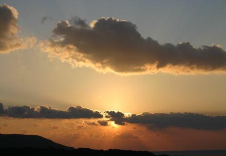淡路島 夕陽