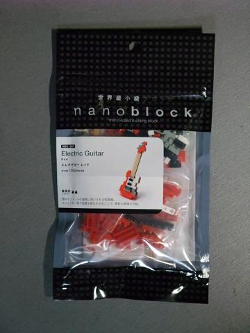 nanoblock (ナノブロック) エレキギター レッド パッケージ