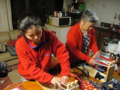 20110530布草履作り