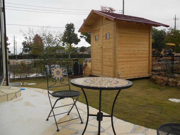 ハイジの小屋完成