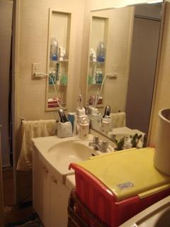 洗面室_工事前2