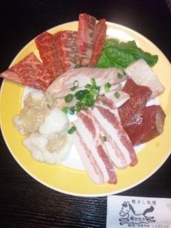 110525 馬かろう 焼肉定食の肉