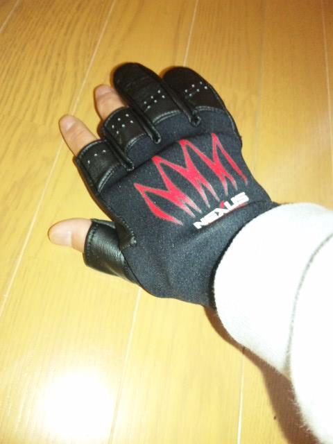 シマノの手袋♪