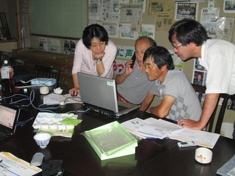 右京民商ブログ講座の様子