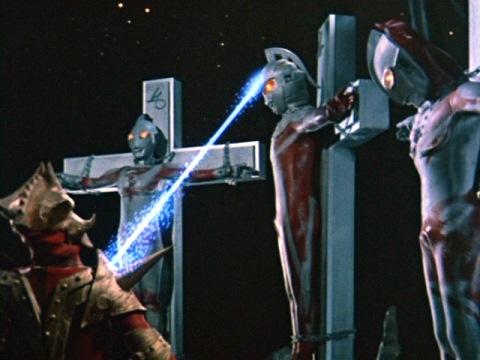 ウルトラ兄弟たちから必殺技を奪うエースキラー