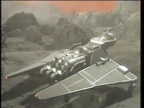 グア星に到着したアンドロ艇
