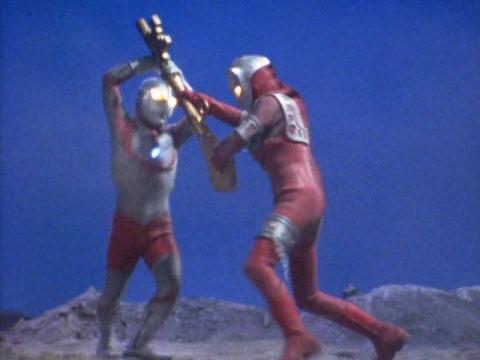 にせアストラとしてウルトラ兄弟と戦うババルウ星人