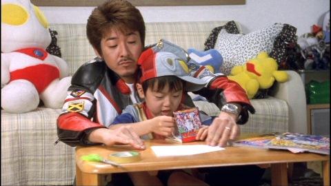 パパ(演:布川敏和)とボク(演:くぼかんじ)