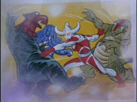 ウルトラの国の歴史 怪獣軍団と戦うウルトラの父