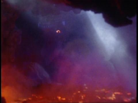 霧門岳の地底で、マグマエネルギーを吸収していたゴルザ(強化)