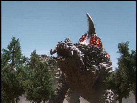 溶岩怪獣 グランゴン