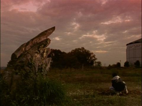 ボイジャー1号を石の翼のところへ埋めた弘希