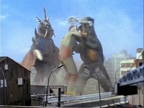 ウルトラマンジャックVSゼットン(二代目)&バット星人