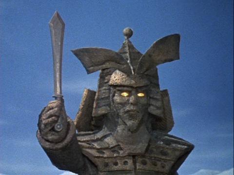 蓮根宝剣を手にするコダイゴン