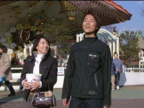 ファンタジーランドに来ていたムサシ・アヤノ両隊員