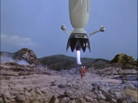 岩本博士が開発したロケット・フェニックス号
