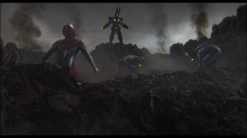 ハイパーゼットンと戦うウルトラ戦士