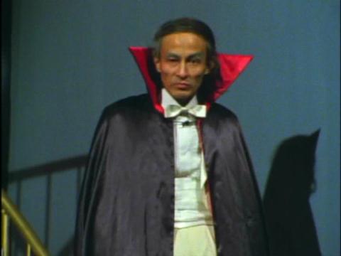 「仮面ライダー」の死神博士役を演じていた故・天本英世氏
