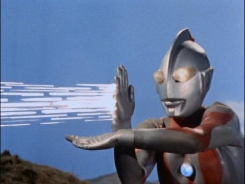 ウルトラマンのスペシウム光線