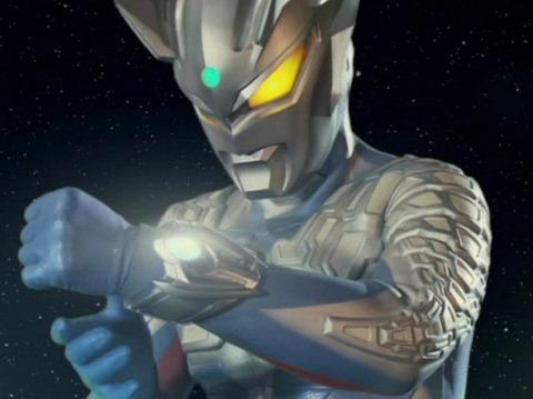 ウルトラマンゼロの左腕に装着されたウルティメイトブレスレット