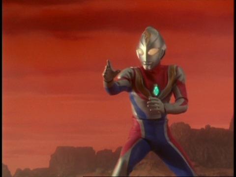 火星に現れた新たなる光・ウルトラマンダイナ