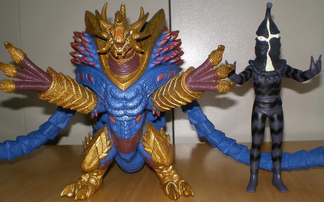 ウルトラ怪獣シリーズ Uキラーザウルス4