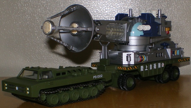 特撮リボルテック メーサー殺獣光線車