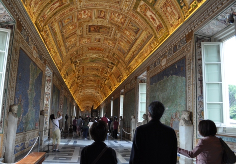 バチカン美術館 フレスコ画