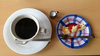 食後のコーヒー&ケーキセット