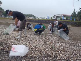 桜浜清掃活動