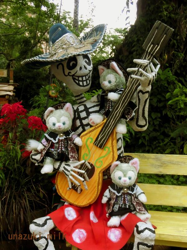 ギタースケルトンと一緒その1
