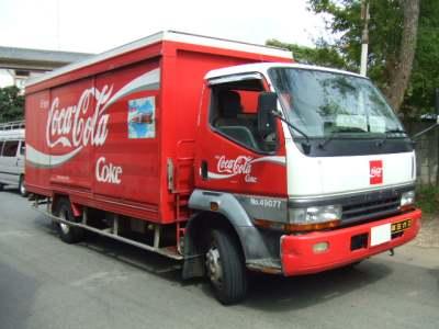 コカ・コーラのキャンター(6代目)