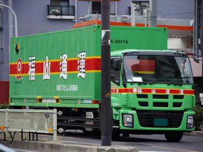 福山通運のギガ(後期)