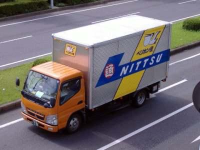 日本通運のキャンター