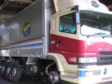 トナミ運輸のスーパーグレート