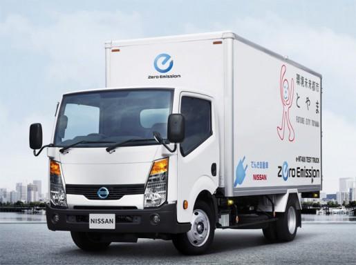 小型電気トラック「e-NT400」