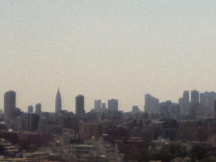 S 20120601 茗荷谷会場からの風景
