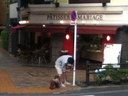 S 20120602茗荷谷ケーキ屋さん