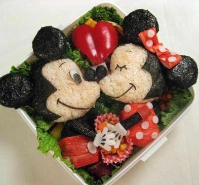 201206 ミッキーマウスのお弁当