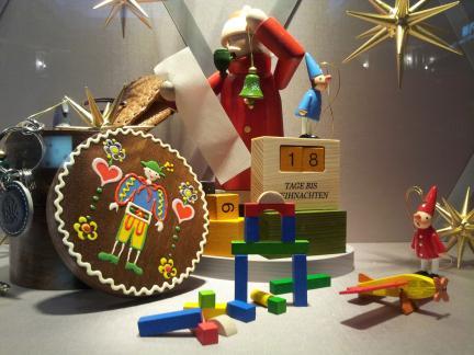 S20121208 松屋のクリスマスショーウィンドー