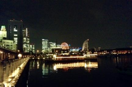 S20140924大桟橋から夜景