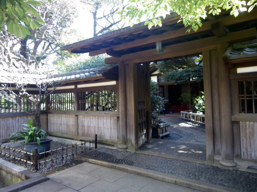 旧前田侯爵邸 和館の門