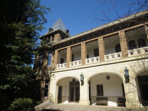 旧前田侯爵邸 南側