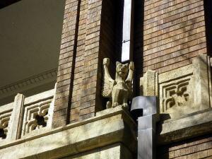 旧前田侯爵邸 南側の彫刻