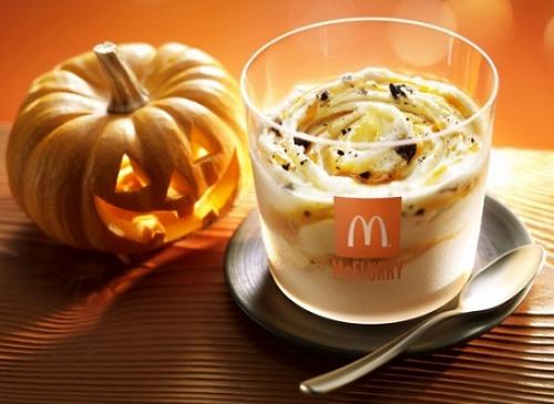 マックフルーリー パンプキンオレオ(R)06@McDonalds