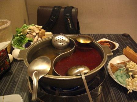 鴛鴦鍋(おしどりなべ)1